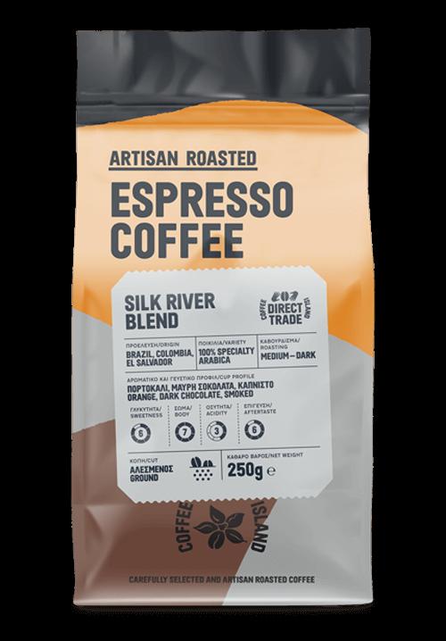 Espresso Silk River Blend Prepacked 250g