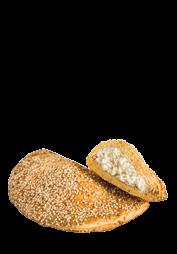 Μελόπιτα με τυρί και σουσάμι