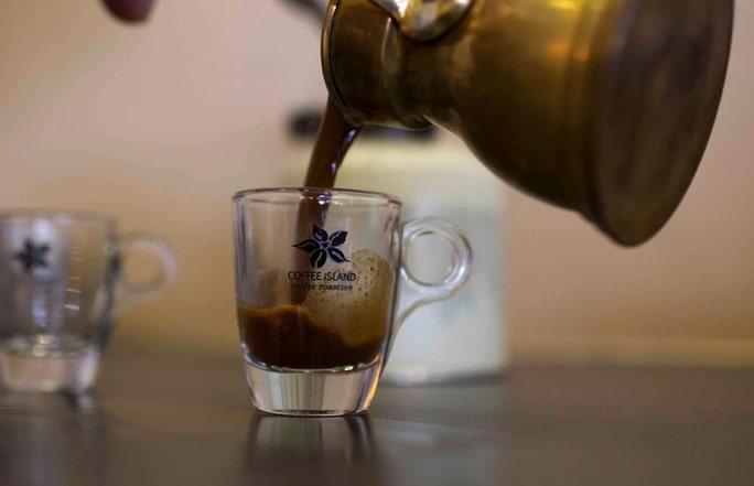 The art of Greek coffee