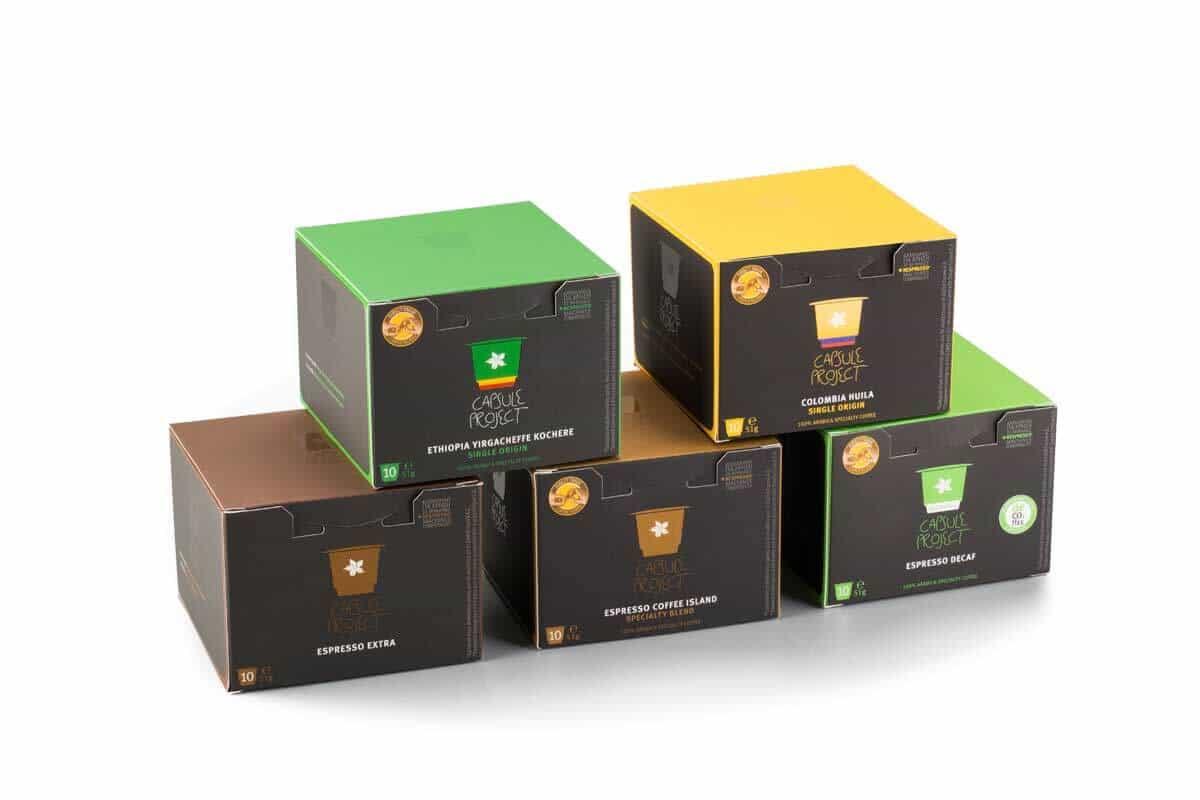 6 Λόγοι γιατί πρέπει να επιλέξεις τις Κάψουλες της Coffee Island
