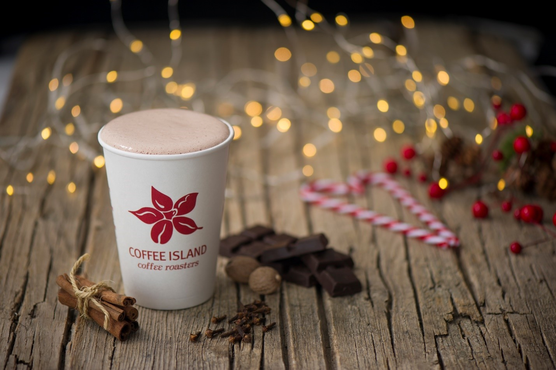 Cinnamon filtered coffee from Coffee Island