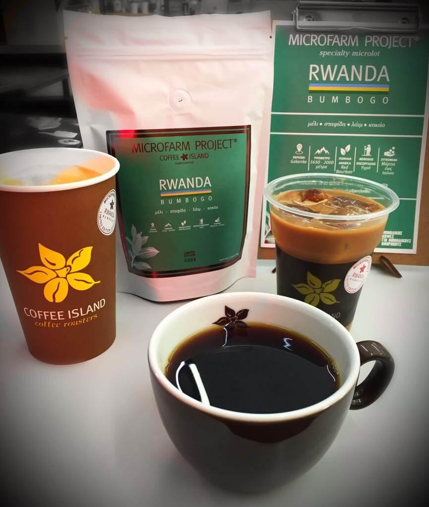Microfarm Cappuccino Latte or Iced Latte