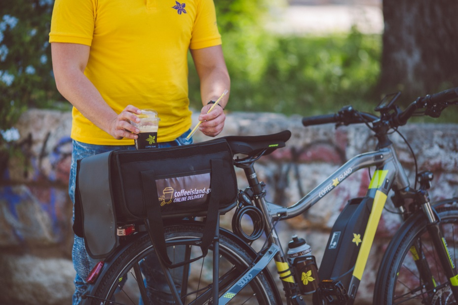 ποδήλατο delivery καφέ