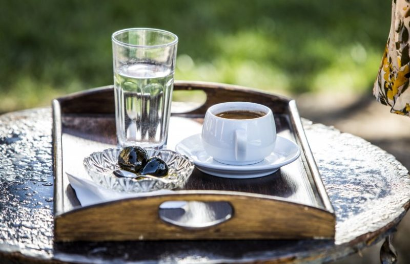 Enjoy Greek coffee .. all year round!
