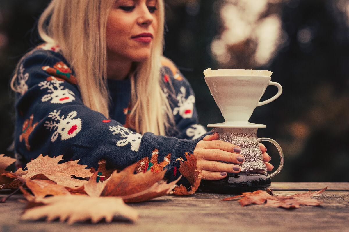 Αρωματικός καφές φίλτρου Κανέλα – Φουντούκι