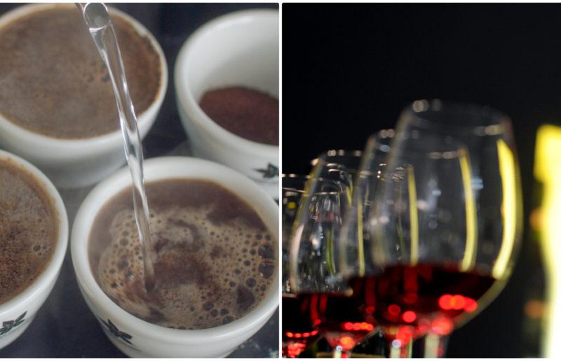 Πόσο ίδιοι και πόσο διαφορετικοί είναι οι γευσιγνώστες του καφέ και του κρασιού;