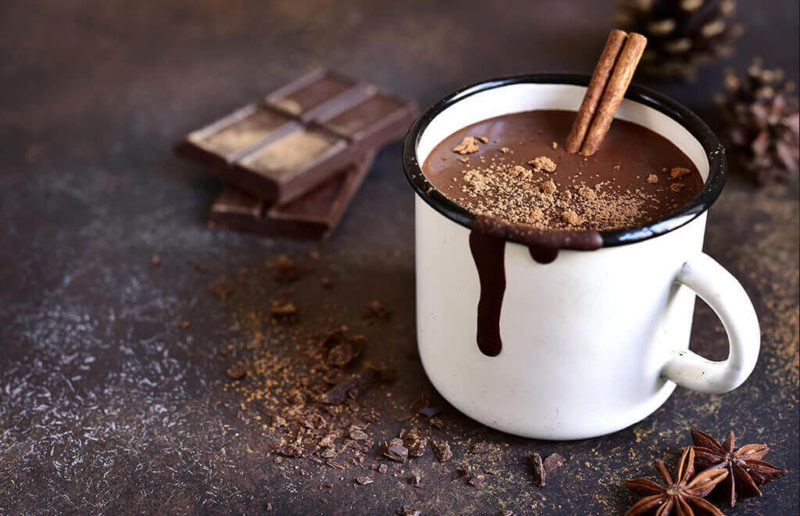 Bitter chocolate, authentic dark chocolate