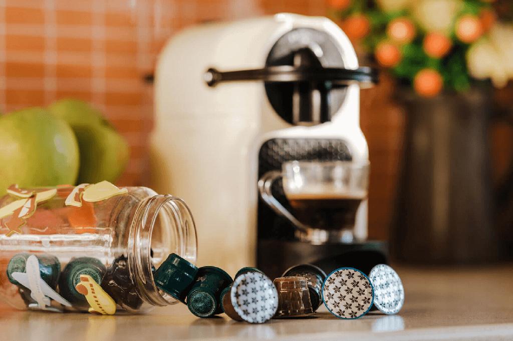 Κάψουλες καφέ στο σπίτι