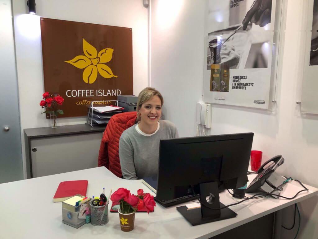 coffee island employee