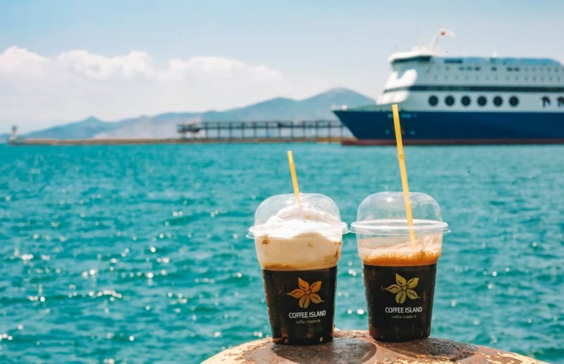 Hot Sun? Iced Choices from Coffee Island