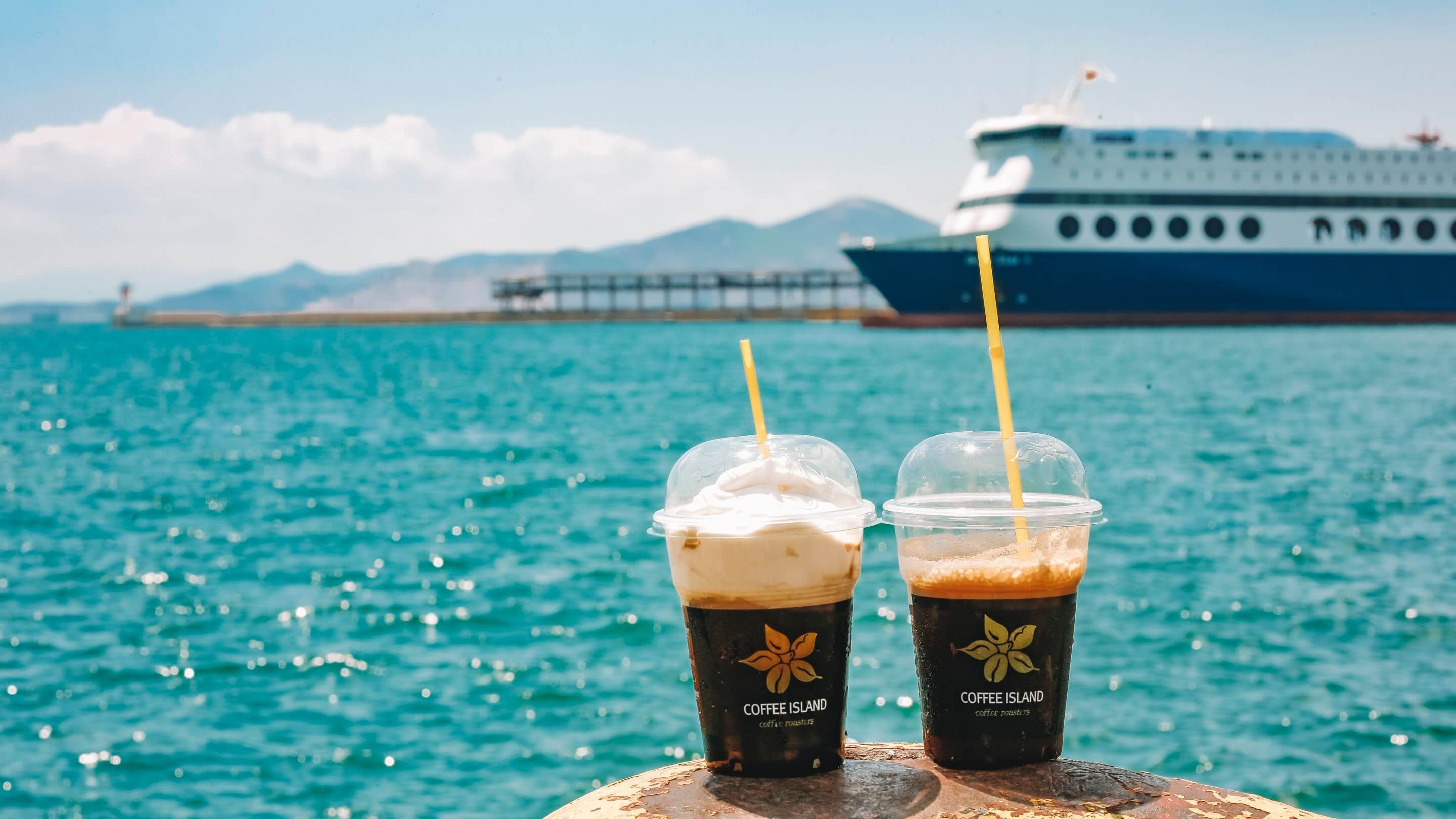 Hot Sun? Iced Choices from Coffee Island