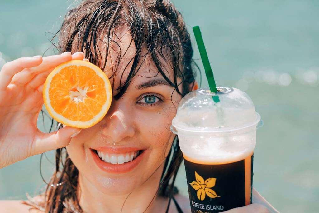 Granita Tea Orange