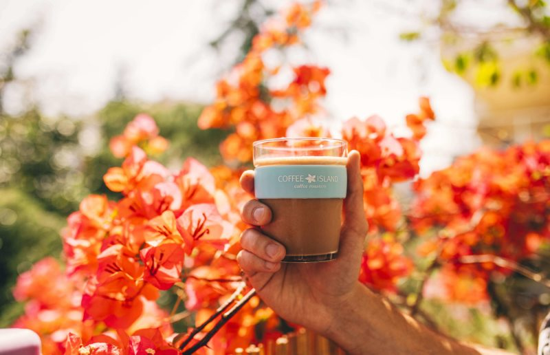 Refreshing indulgence by Coffee Island wherever you are…because you can!