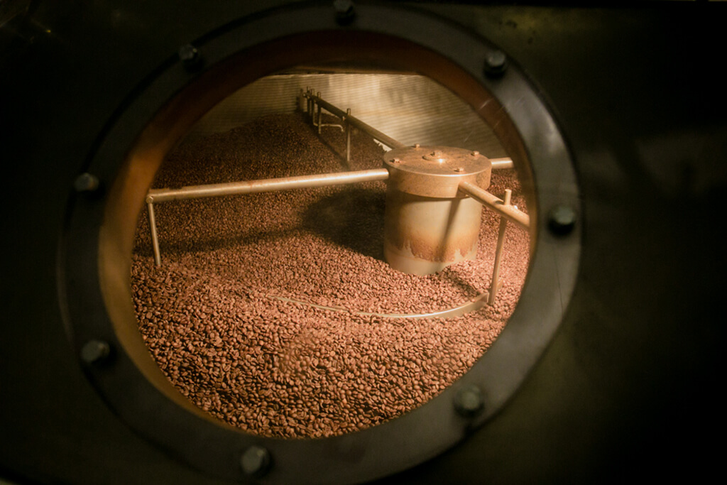 The process of artisan roasting