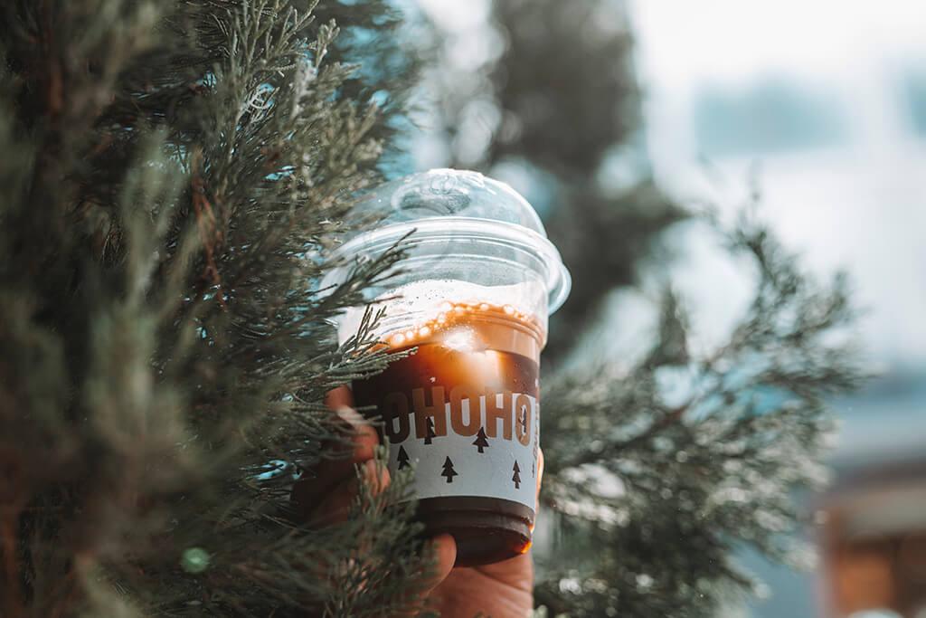 Coffee Island's Christmas cold coffee
