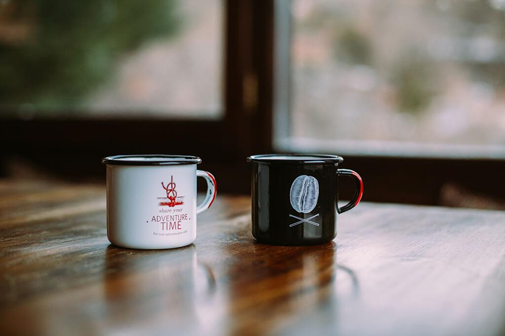 Coffee Island mugs