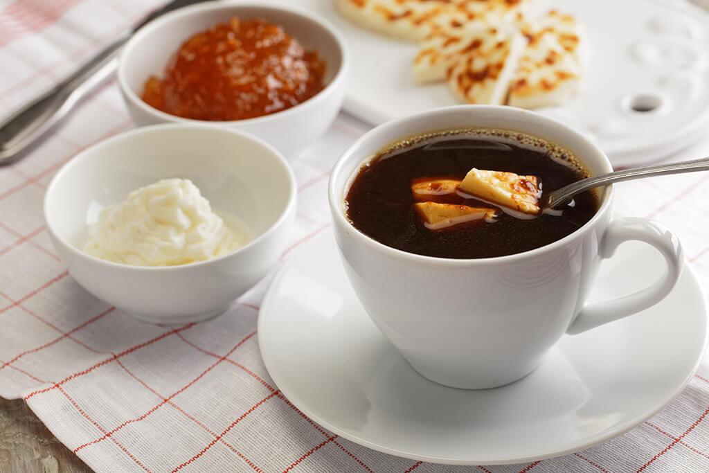 Kaffeost coffee