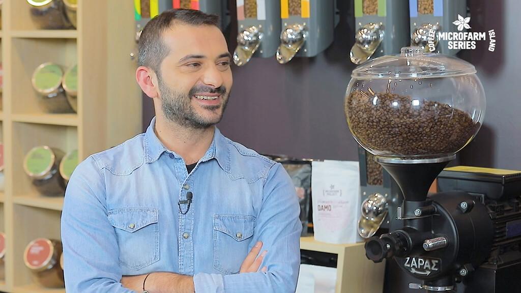 Chef Leonidas Koutsopoulos at Microfarm Series episode 1