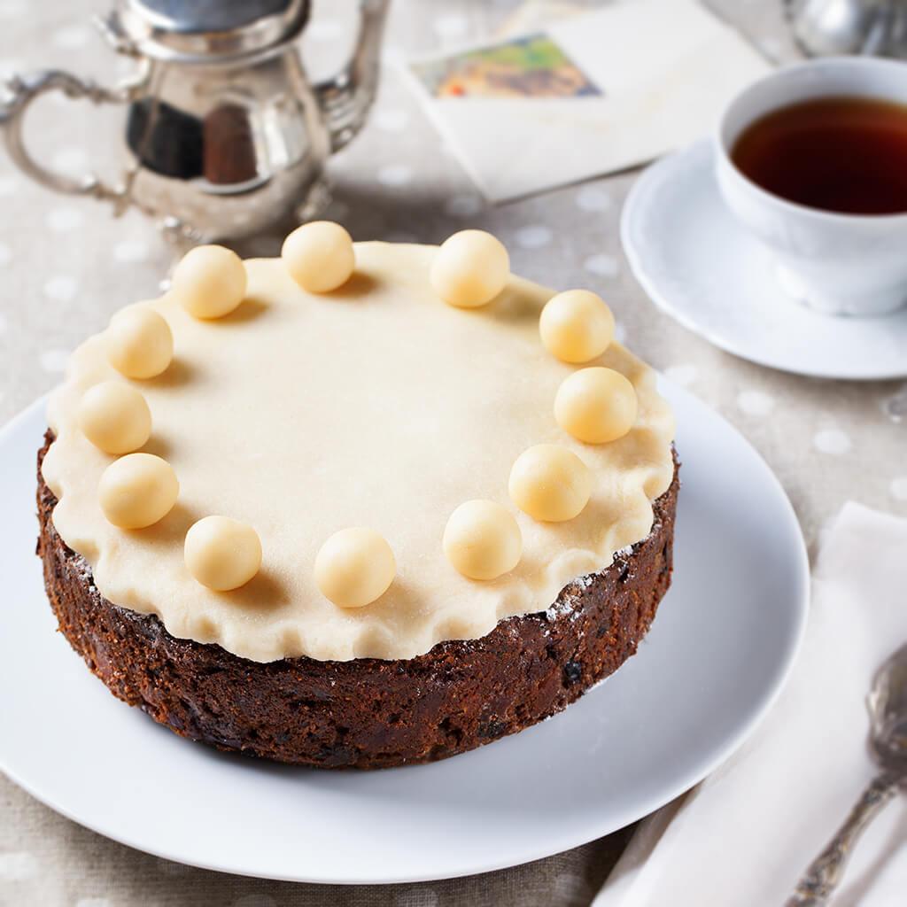 English Simnel Cake.