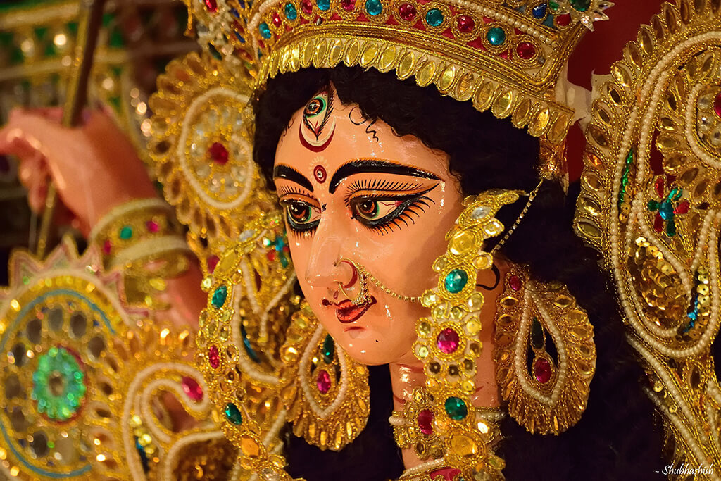 Indian festival Durga Puja.