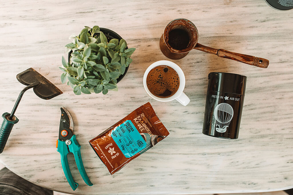Coffee Island's Ibrik Coffee