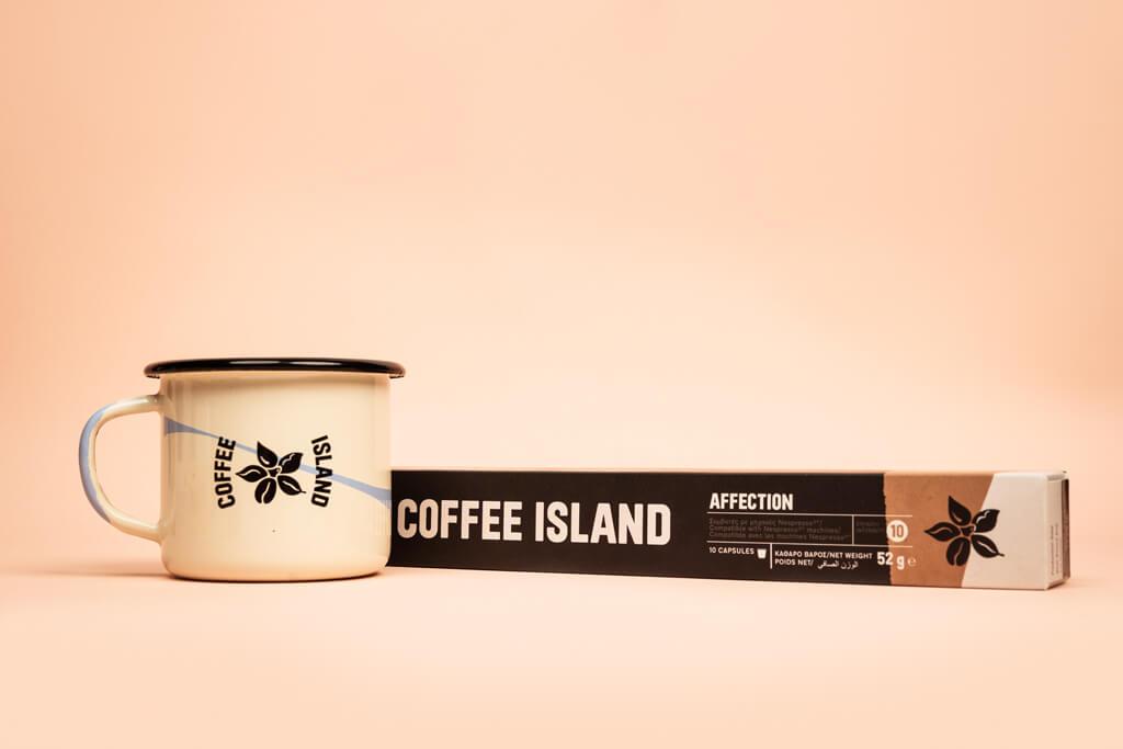 Coffee Island's affection capsule.