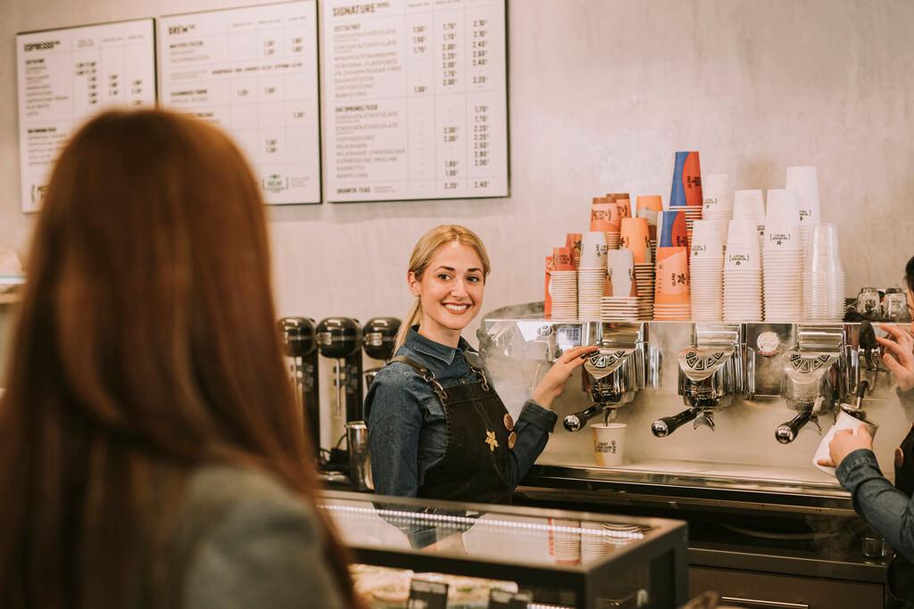 Coffee Island's baristi.
