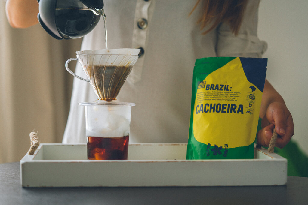Coffee Island's filter coffee brazil cachoeira.