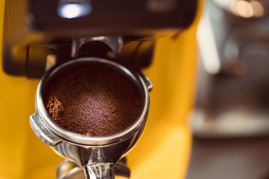 Coffee Island's coffee machine