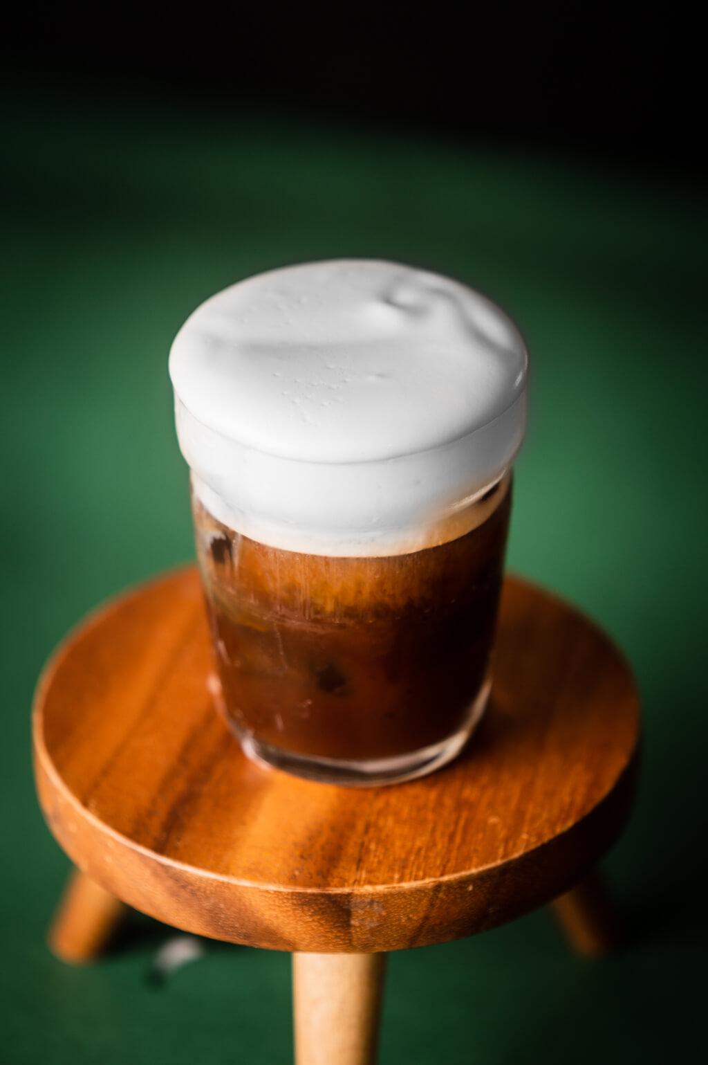Coffee Island's delicious freddo cappuccino.