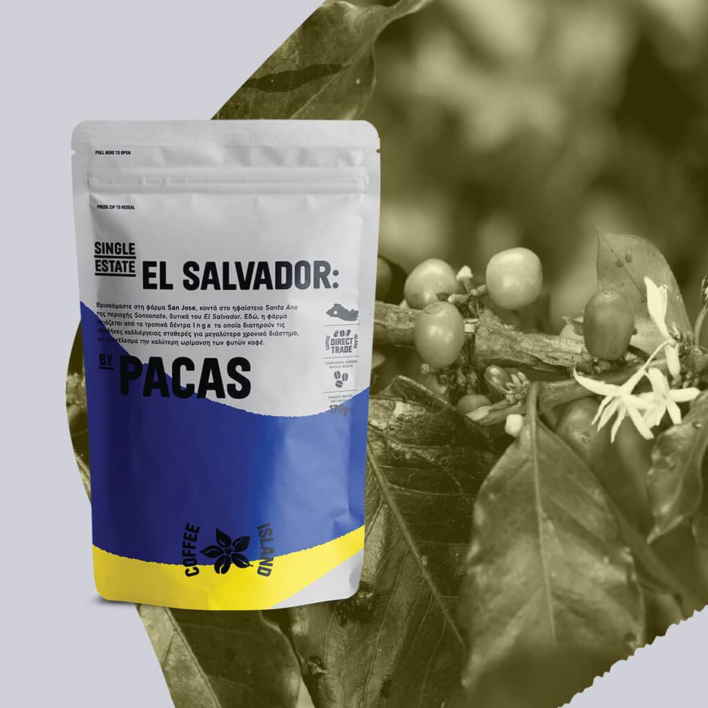 El Salvador by Pacas: A Family's Single Estate coffee