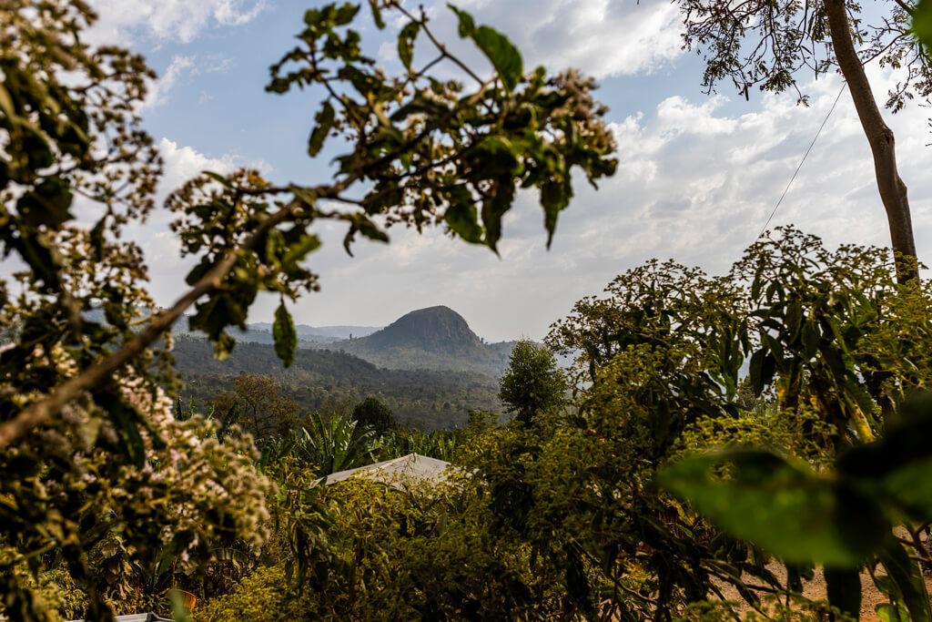 A beautiful landscape in Ethiopia.