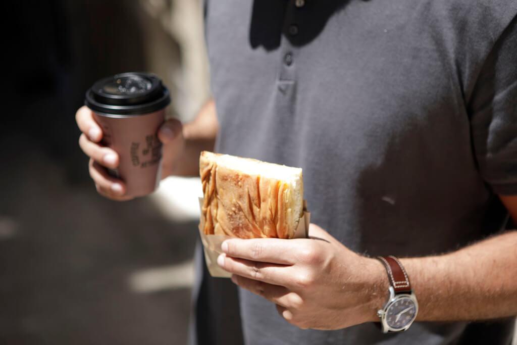 COFFEE ISLAND'S TRADITIONAL CHEESE PIE.
