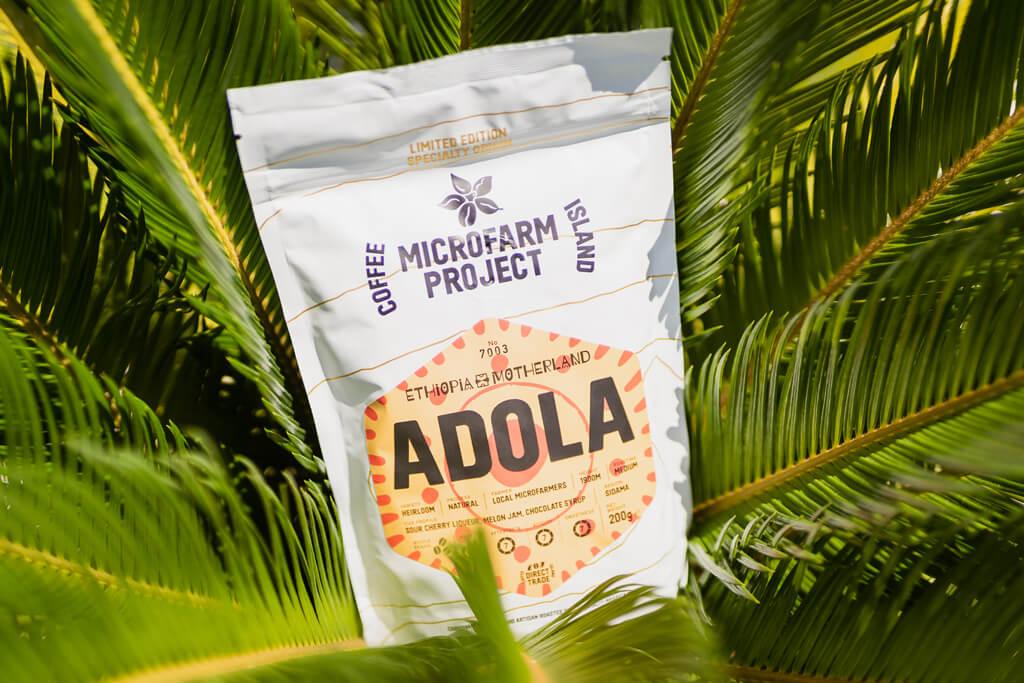 Coffee Island's Ethiopia Adola.