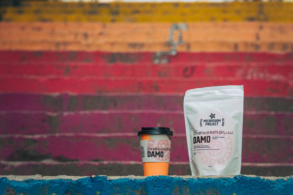 Coffee Island's Ethiopia Damo.