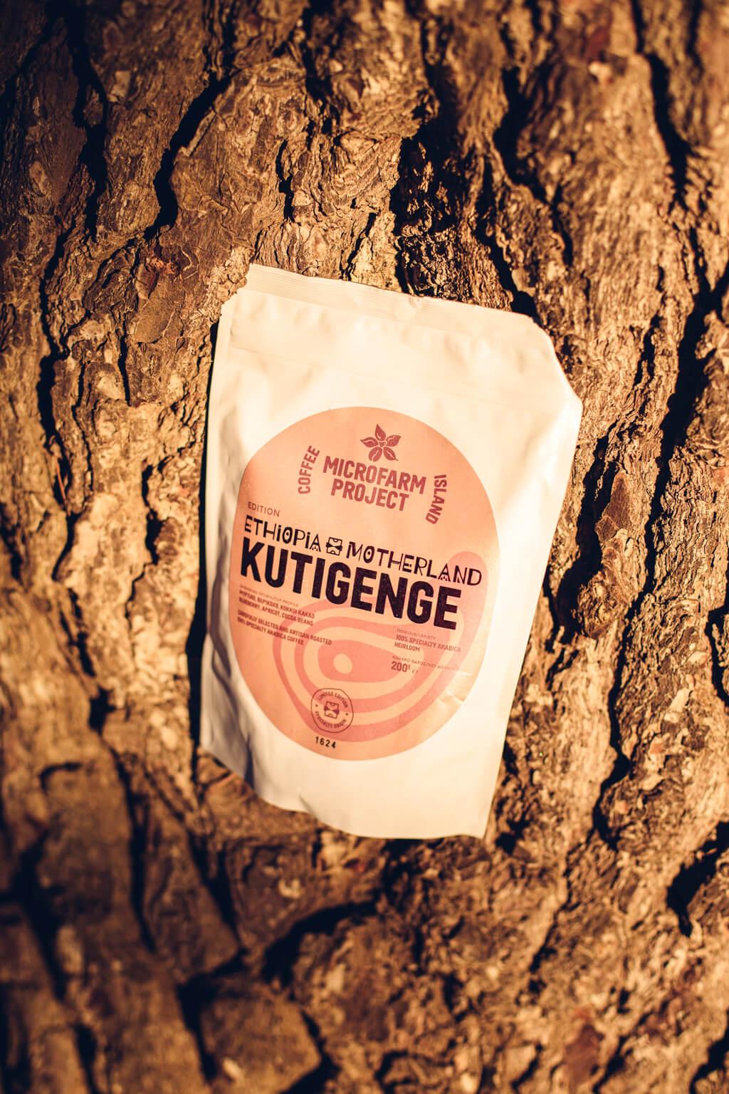 Coffee Island's Ethiopia Kutigenge.
