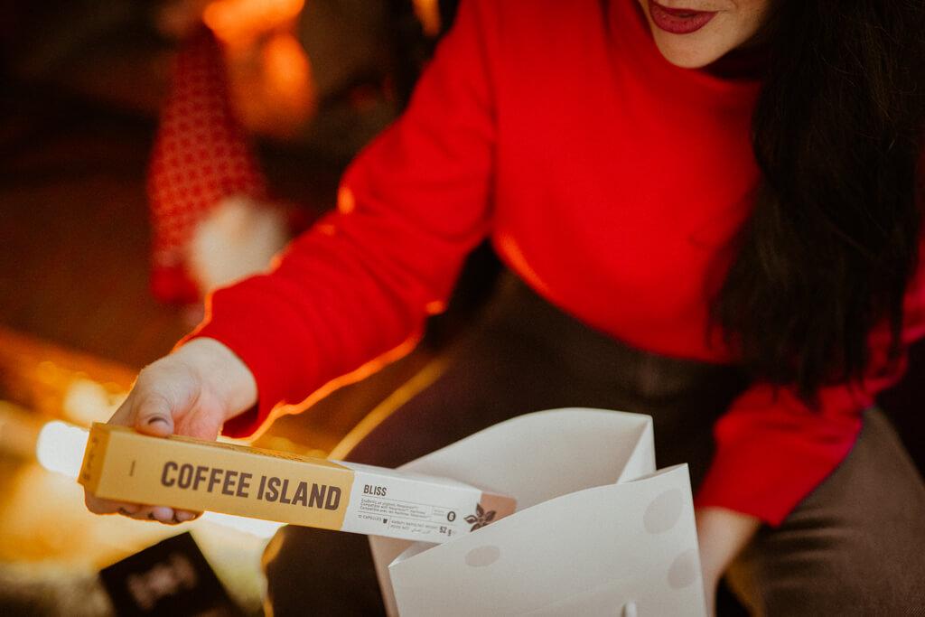 Coffee Island's bliss capsules.