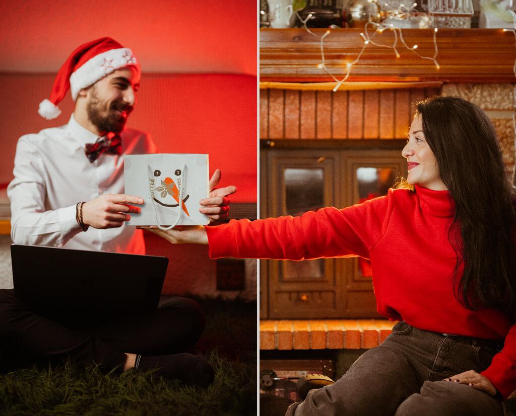 Coffee Island's Coffee Mates Christmas edition.