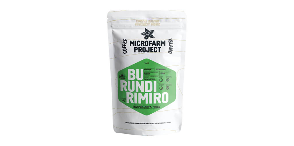 WELCOME TO THE NEW MICROFARM PROJECT COFFEE: BURUNDI RIMIRO