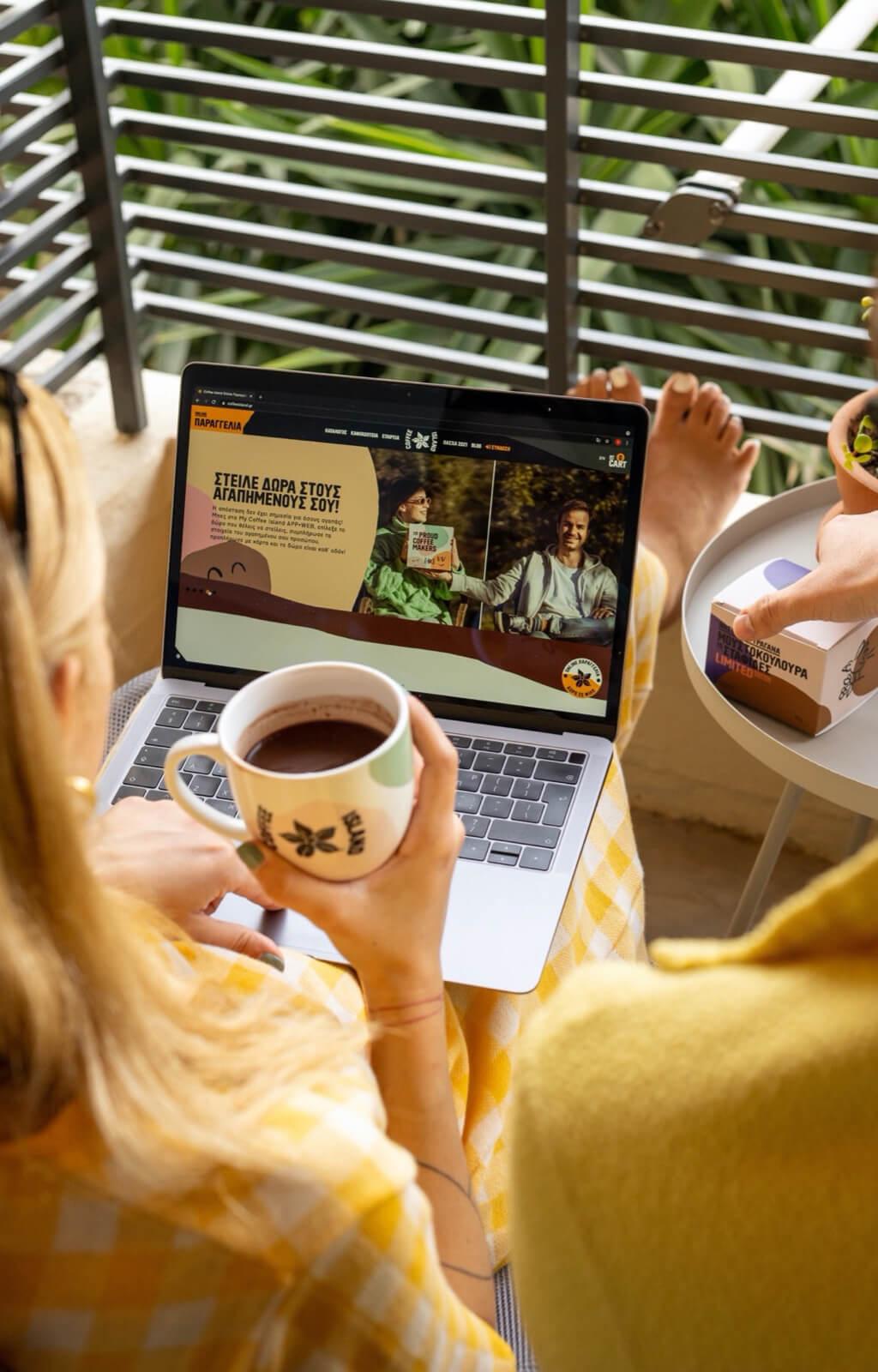 COFFEE ISLAND'S WEBSITE