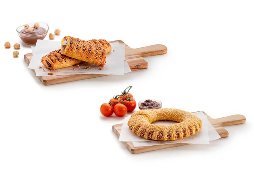 Praline Pie and Mediterranean Koulouri