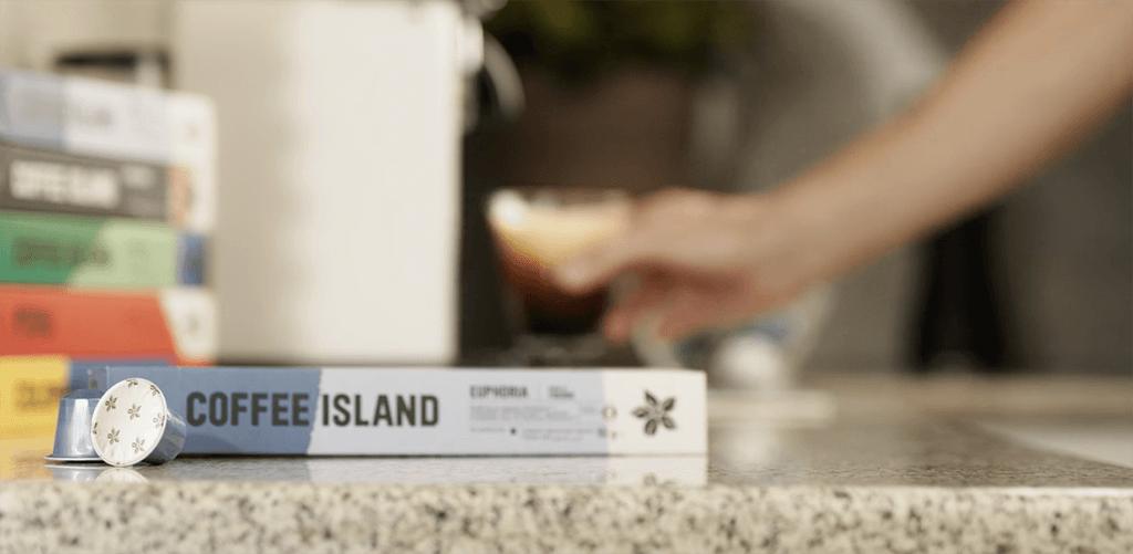 Coffee island capsules
