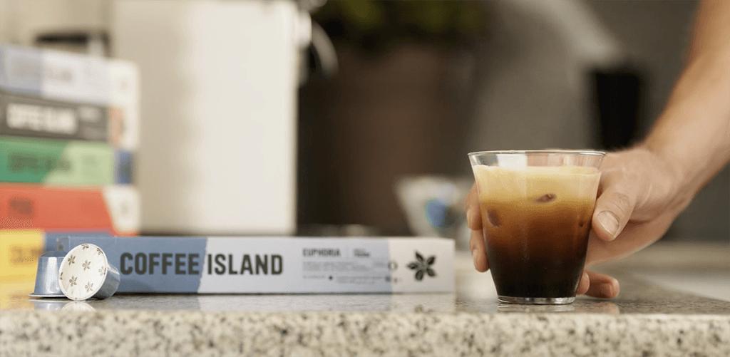 coffee island capsules at home
